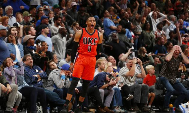 Russell Westbrook breaks the NBA's triple-double record