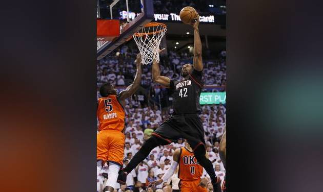 Russell Westbrook stars as Oklahoma City Thunder edge Houston Rockets