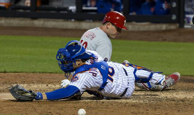 Mets slugger Cespedes limps off with hamstring cramp