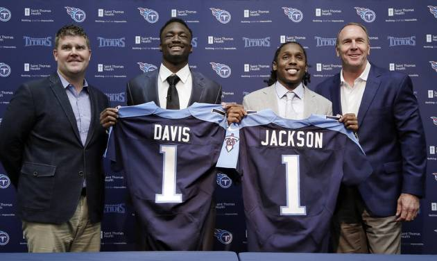 Titans happy with 1-2 punch in first round
