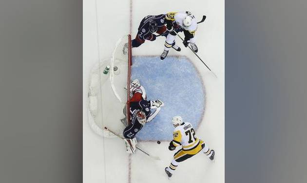Blue Jackets' Calvert suspended one game for hit on Penguins' Kuhnhackl