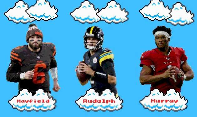 After airing it out in the Big 12 with high-scoring offenses, Baker Mayfield (Browns), Mason Rudolph (Steelers) and Kyler Murray (Cardinals) are...