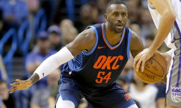 dec61bc8a39 Patrick Patterson remained a  complete pro  as his role shrunk on the  Thunder