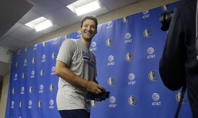The NBA Wouldn't Let Tony Romo Play