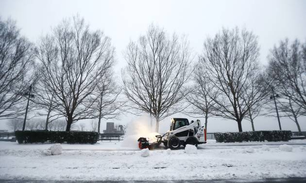 Snow, freezing rain fall on Harford County Friday