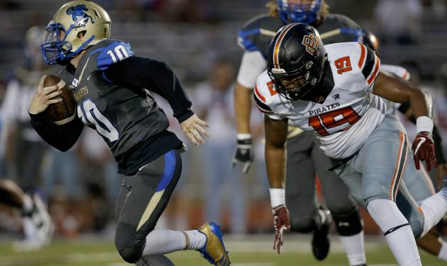 High school football: No. 4 Putnam City's defense overpowers No. 7 Choctaw Image