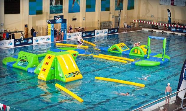 In Water Obstacle Course Called Swimjitsu Comes To Edmond Ymca News Ok