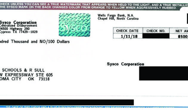 This Check, With Account Details Redacted By The Oklahoman, Shows The  Amount Paid By  Resume Critique