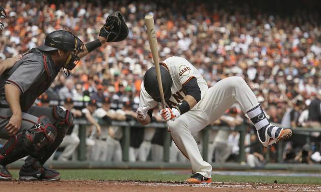 Buster Posey 'Doing Good' After Fastball To Helmet