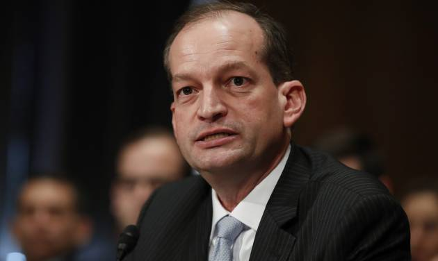 Senate confirms Alex Acosta as Trump's secretary of labor