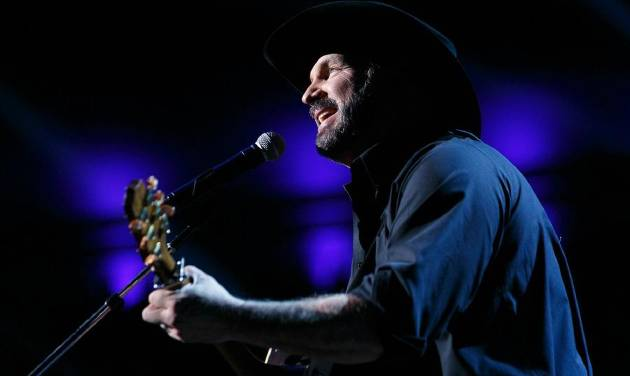 Garth Brooks performs at the star-studded Gershwin Prize tribute concert in his honor in Washington, D.C., which will air Sunday on PBS. [Shawn...