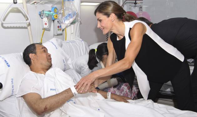 The Latest Spanish Royals Visit Wounded From Van Attack News Ok