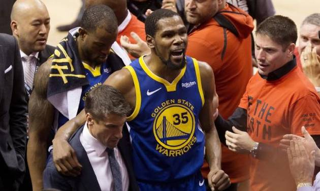 35cff610bdf Kevin Durant injury stokes debate on how much is too much for NBA players