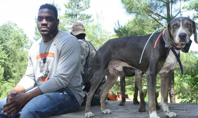 OSU Defensive End Jarrell Owens Likes To Hunt Wild Hogs Photo Provided