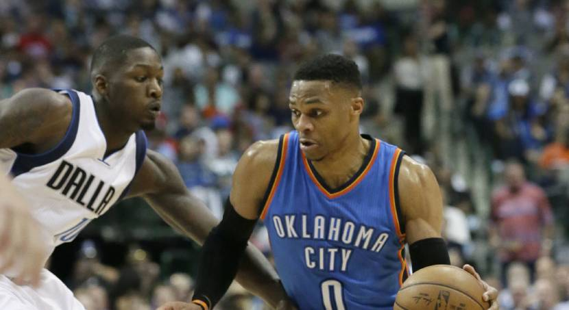 Thunder: Westbrook hits game-winner with 7.1 seconds left against Dallas
