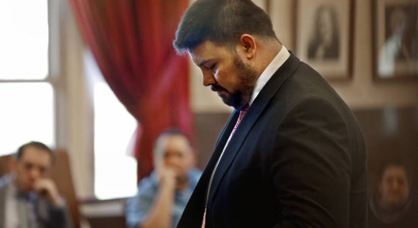 Ralph Shortey Appears in Court.