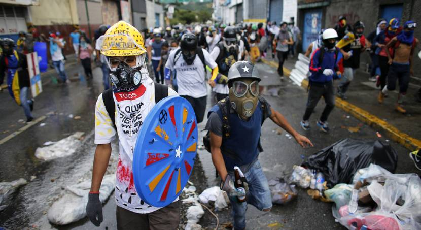 Anti-government protests continue in Venezuela