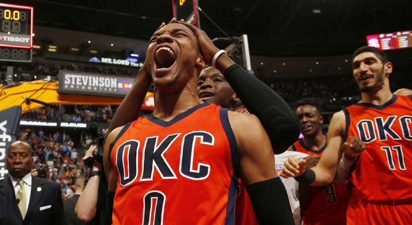 Now, the M-V-P chants will shower Westbrook