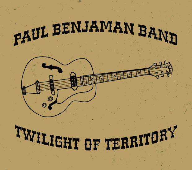 "<p>Paul Benjaman Band's ""Twilight of Territory"" EP cover. [Image provided]</p>"