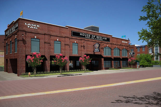 House of Bedlam set to be built next year along the Bricktown Canal just west of the Chickasaw Bricktown Ballpark.