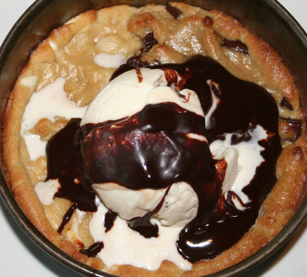 Cookie pie.