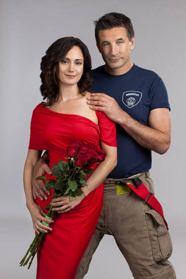 Local Florist Kate (Natalie Brown) Falls Hard For Fireman Dan Farrell  (Billy Baldwin