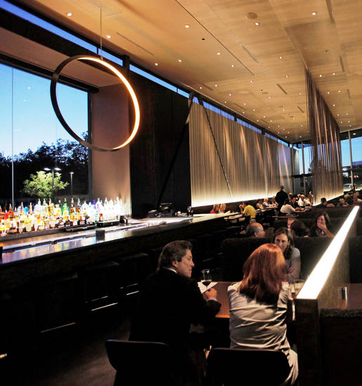 An interior view of Cafe 501 in the Classen Curve in Oklahoma City, Monday, October 4, 2010. Photo by Nate Billings, The Oklahoman