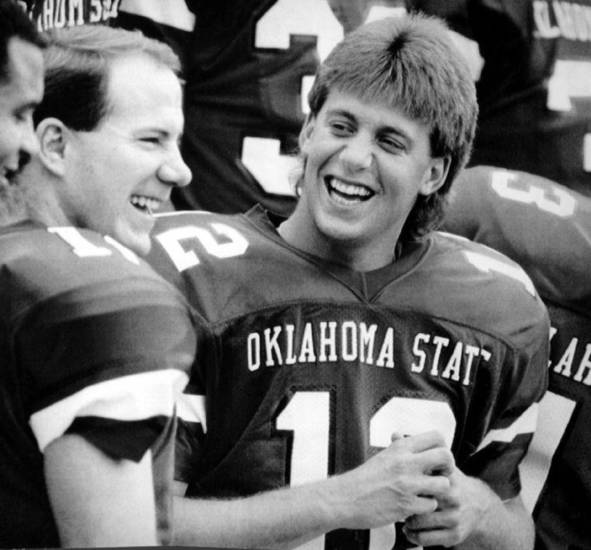 Oklahoma State Football Mike Gundy Once Quarterbacked An