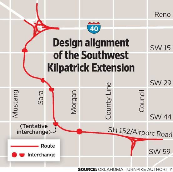 Turnpike Officials Promise Better Metro Area Access For Southwest Oklahoma City Area News Ok