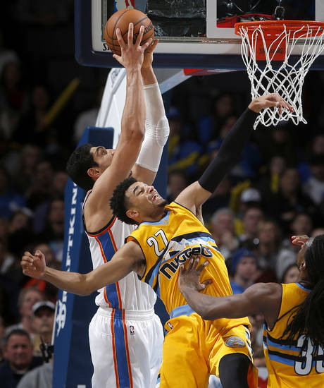Thunder Vs Nuggets Gallery