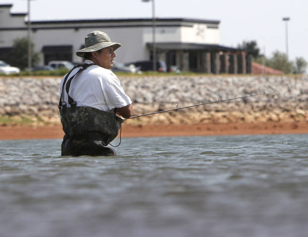 Oklahoma fishing report news ok for Lake hefner fishing report