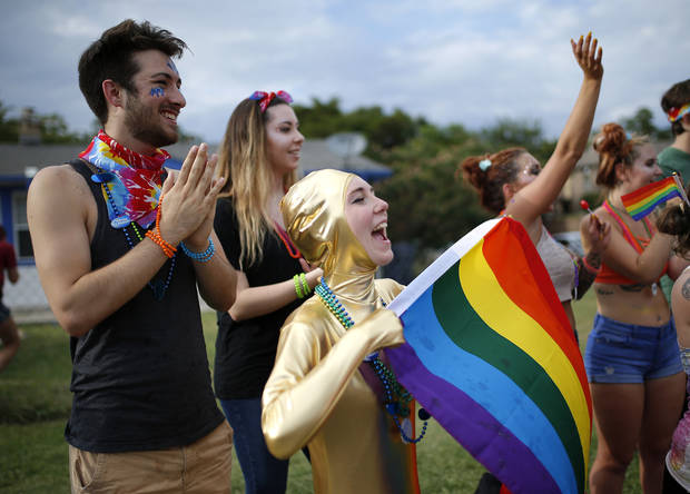 Series of firsts for mayor holt as okc pride week begins with ceremony