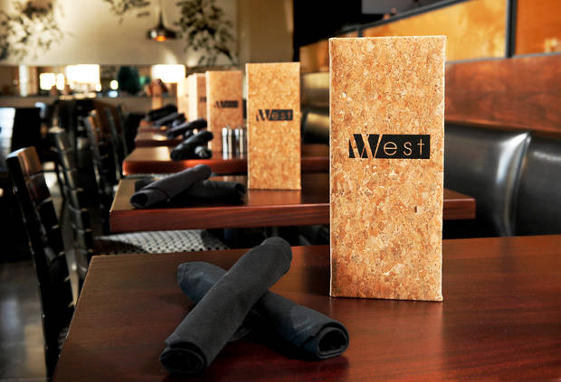 West, 6714 N. Western, a new restaurant in northwest Oklahoma City.   Photo by Jim Beckel, The Oklahoman