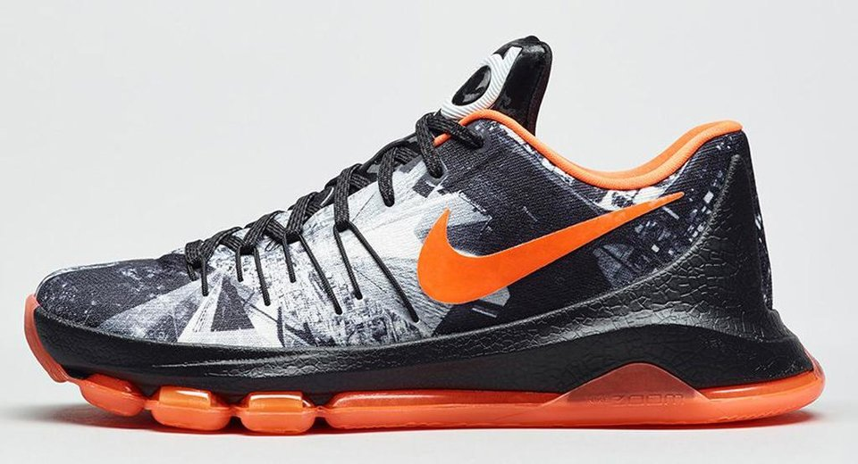 Photo - Kevin Durant's KD8 Opening Night shoe will be available on Black Friday. (Nike)
