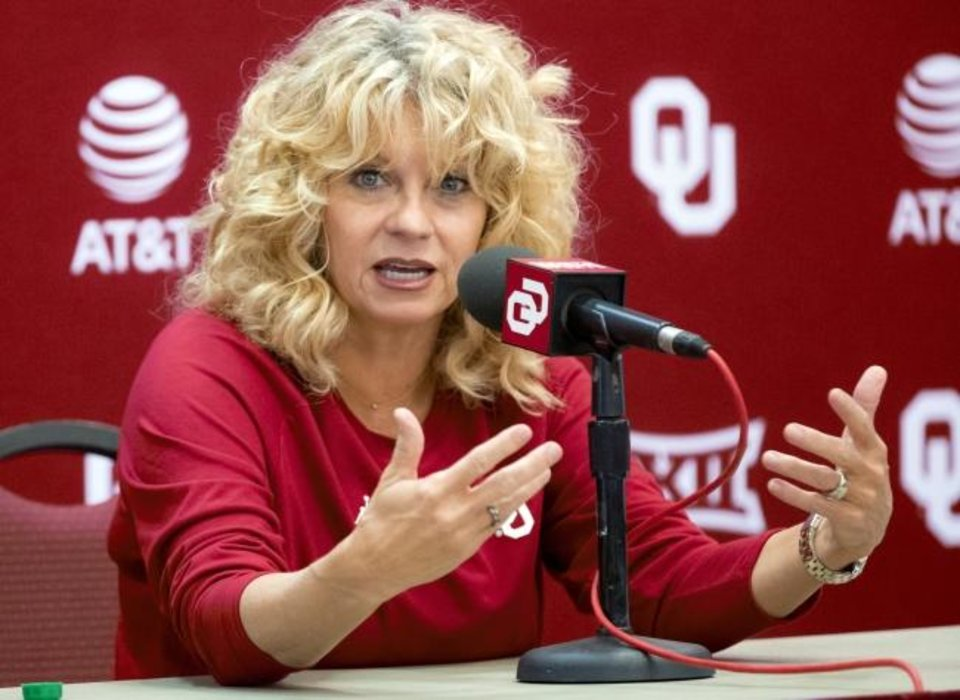 Photo -  Sherri Coale apologized Sunday night after several former players described incidents of racial insensitivity they faced during their playing days for the Sooners. [Chris Landsberger/The Oklahoman]