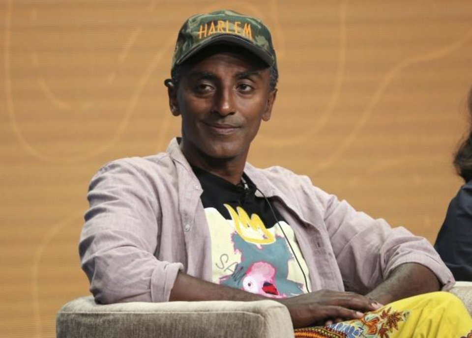 Photo -  Host/chef Marcus Samuelsson participates in PBS's