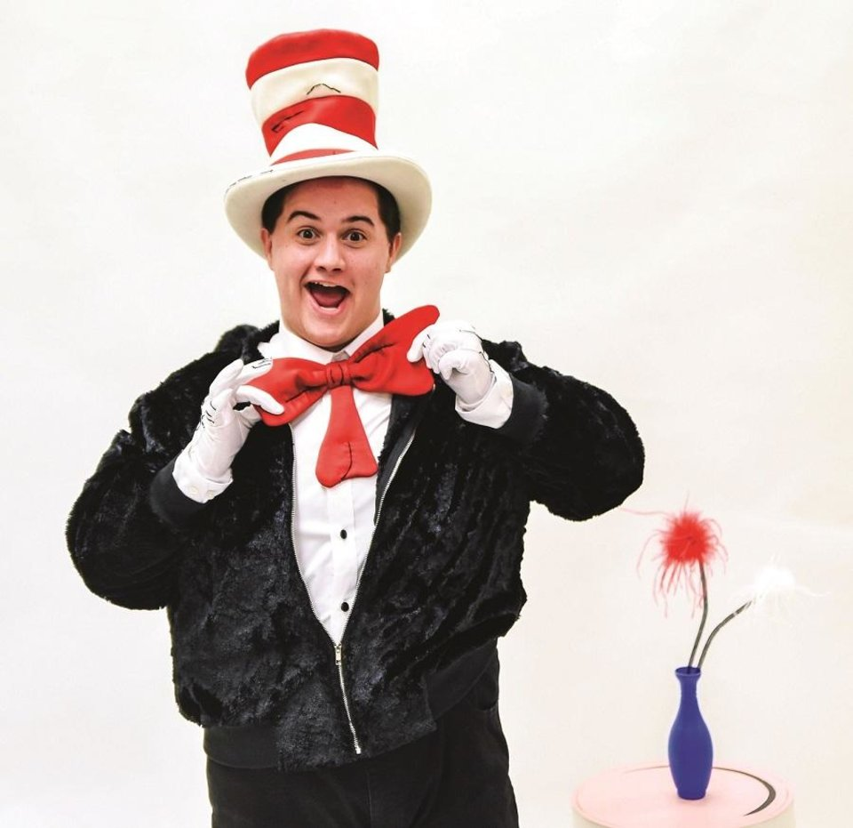 Photo - Josiah Brooks plays the title character in Lyric Theatre's production of Dr. Seuss'
