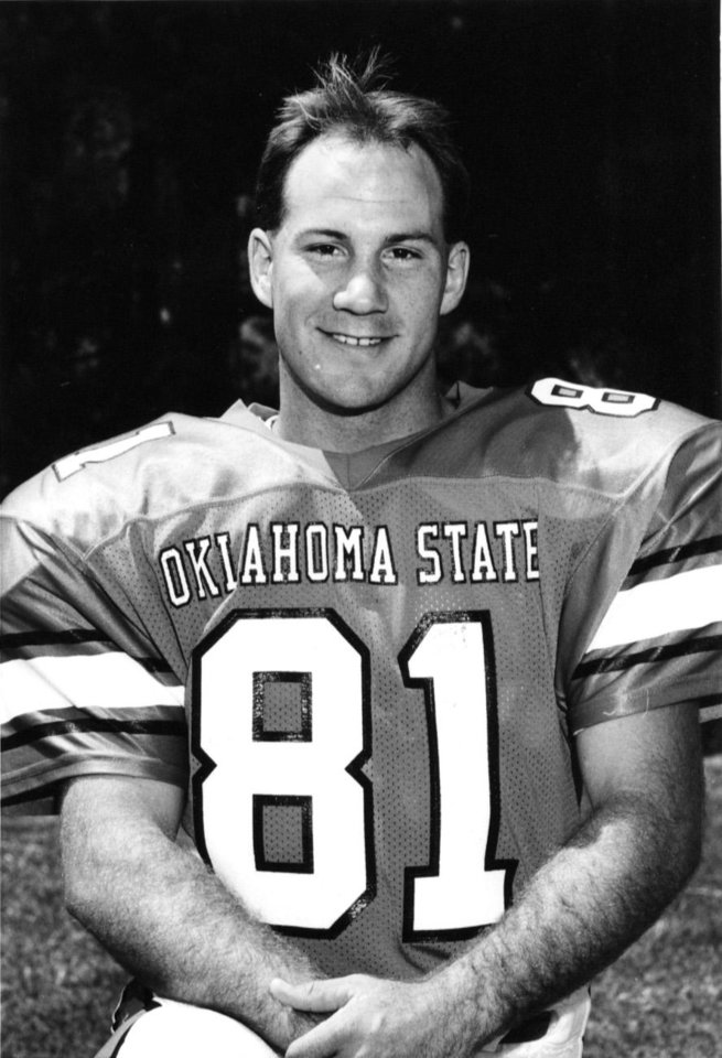Photo - Former Oklahoma State player Joey Witcher. PHOTO PROVIDED