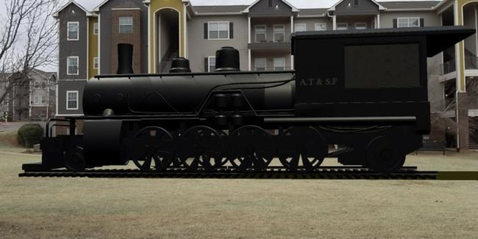 Photo -  With funding from the first Oklahoma Wonder Grant, people will have the chance to immerse themselves in Oklahoma's historic black towns with a ride on this augmented reality train that's currently in development. The next round of Wonder Grant funding is taking applications to connect a local business, nonprofit or public sector entity with an online learning solution. [TREY SCHEURER/TRIFECTA]