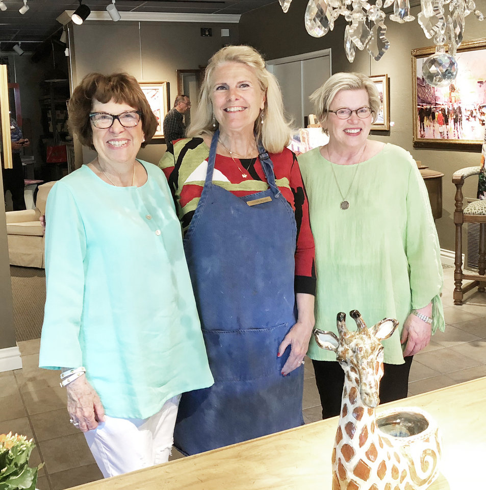 Photo - Alison Taylor, Ginger Myers Gavula, Sally Bentley. PHOTO BY LEIGH HOWELL LOVE