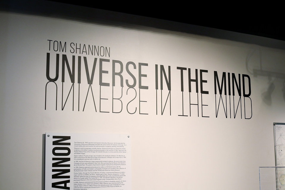 Photo - Internationally known inventor and artist Tom Shannon's exhibit,