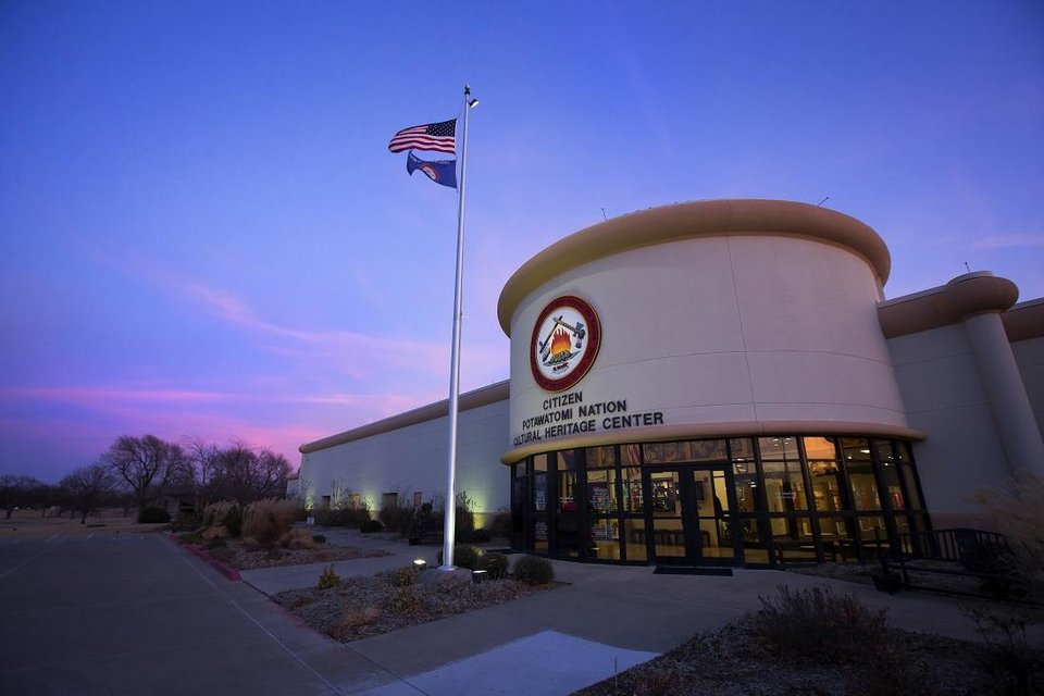 Photo - The Citizen Potawatomi Nation Cultural Heritage Center in Shawnee is seen on Friday, Jan. 19, 2018. [Photo provided]