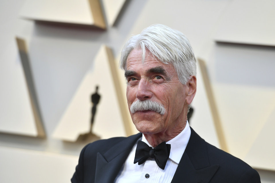 Photo -  Sam Elliott arrives at the Oscars on Sunday, Feb. 24, 2019, at the Dolby Theatre in Los Angeles. (Photo by Jordan Strauss/Invision/AP)