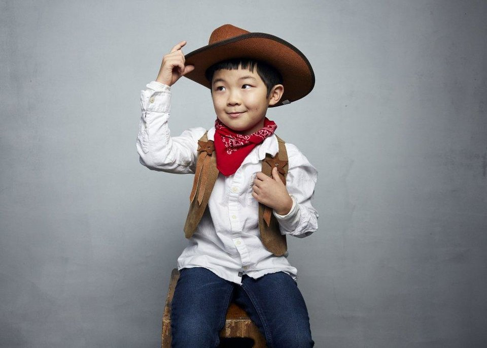 Photo - Alan Kim poses for a portrait to promote the film