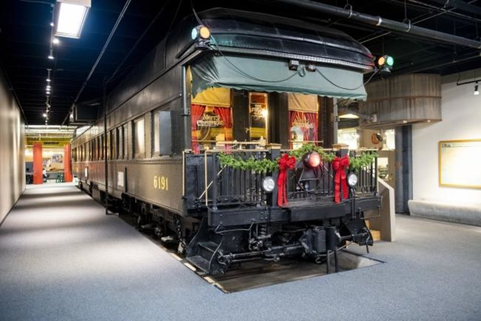 Photo -  Science Museum Oklahoma is offering tours of its 1929 Pullman parlor car. [PHOTO PROVIDED]
