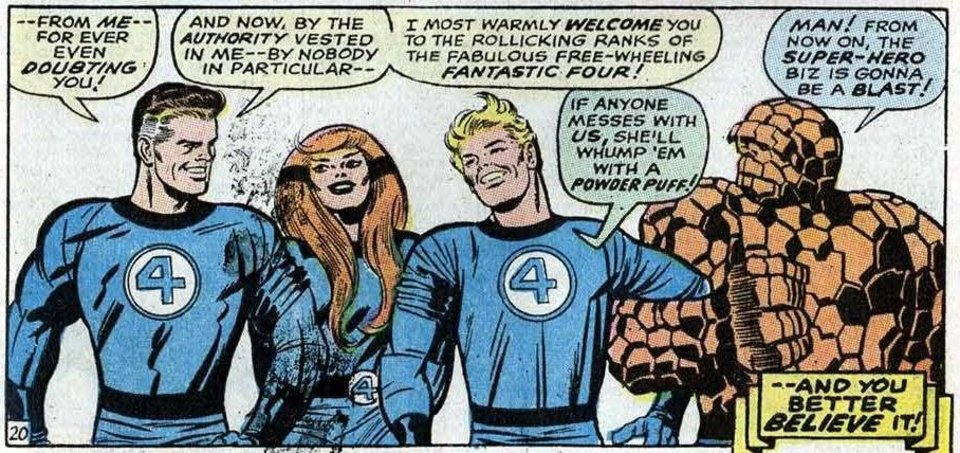 Photo - The Inhuman Crystal joined the Fantastic Four in