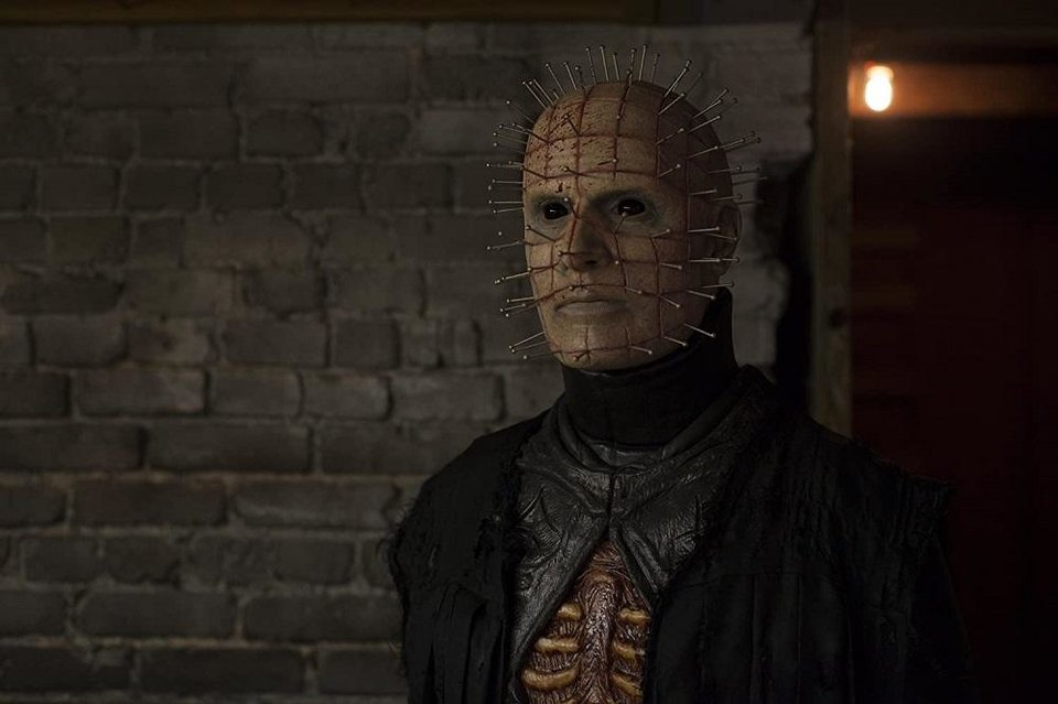 Photo - Paul T. Taylor plays Pinhead in
