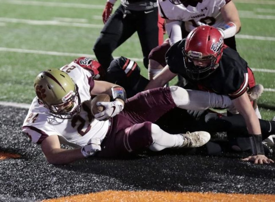 Photo -  Cashion will battle Ringling for a state title  at 1 p.m. Saturday.  PHOTO BY STEVE SISNEY FOR THE OKLAHOMAN