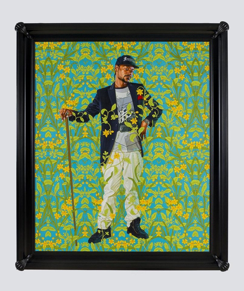 Photo - The Oklahoma City Museum of Art has purchased Kehinde Wiley's 2018 portrait