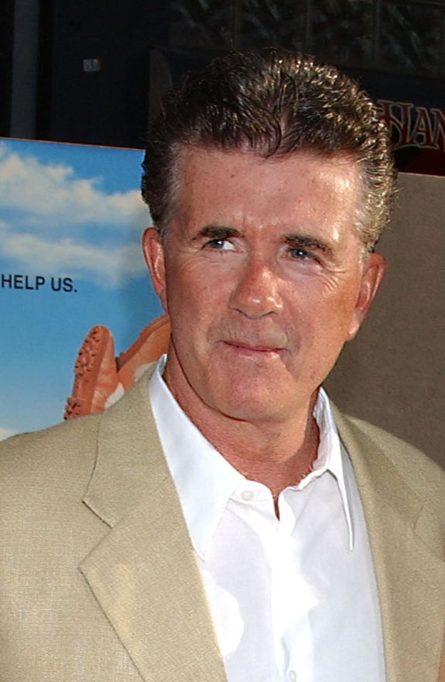 Photo - ** FILE ** Actor Alan Thicke is shown at the premiere of
